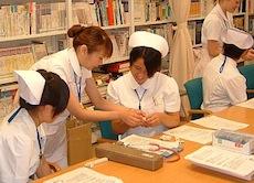 看護学生の実習指導
